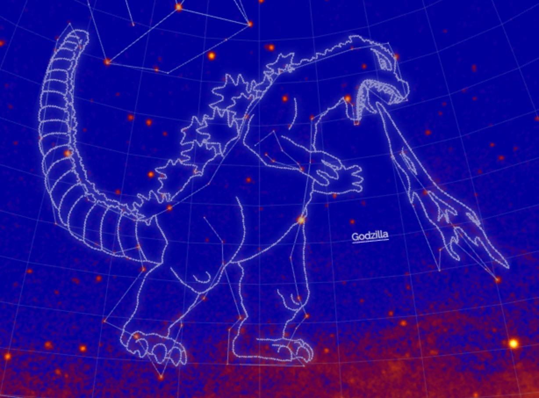 NASA「ゴジラ座」認定!日本の怪獣が星座になるのは史上初