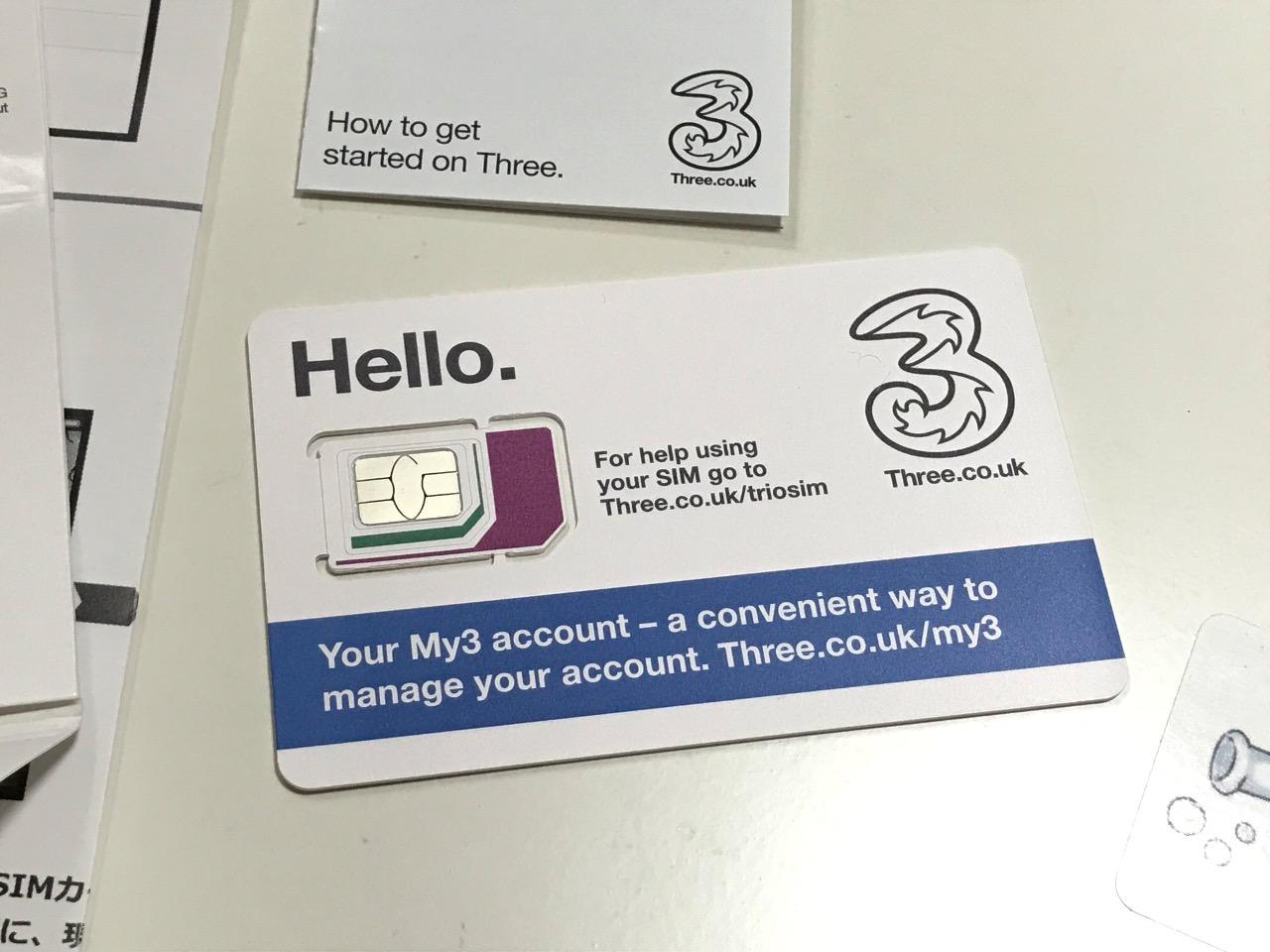 チェコで利用可能なSIMカード(12GB/30日間/2,230円)