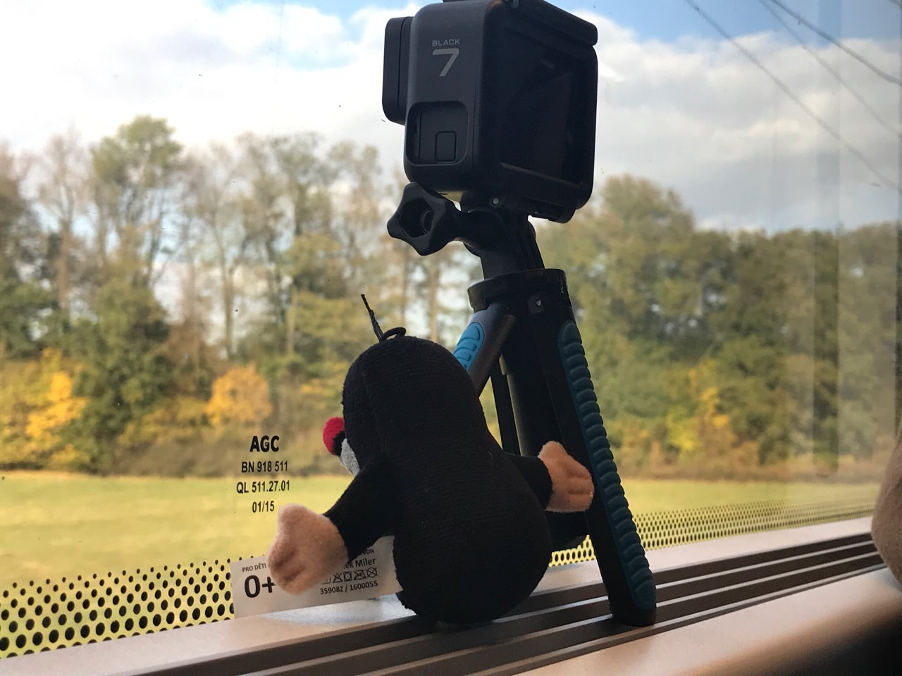 【GoPro7】チェコの鉄道「RagioJet」でタイムラプス撮影! #チェコへ行こう #cz100y
