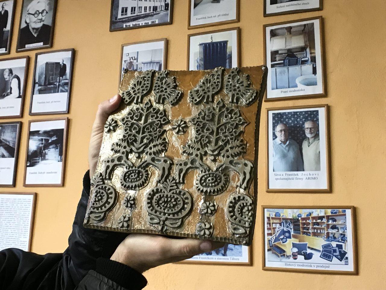 世界遺産に認定されるチェコのブループリント(藍染)工房「modrotisk」