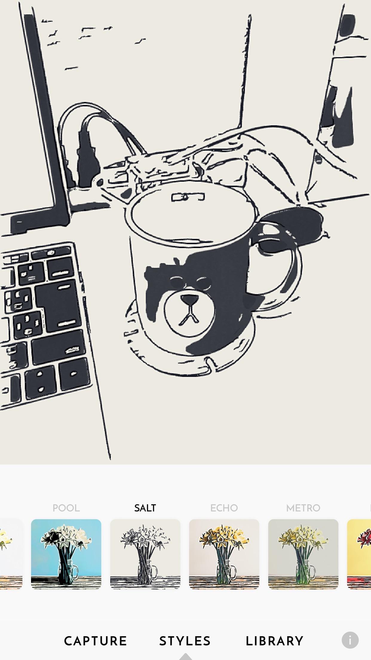 写真や動画が手描き風になると話題のiPhoneアプリ「olli」試してみた