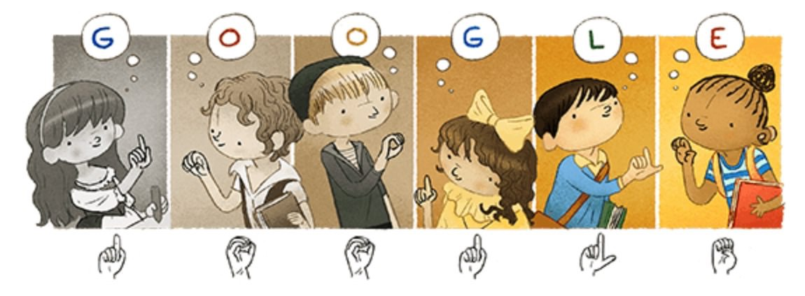 Googleロゴ「ド・レペ」に