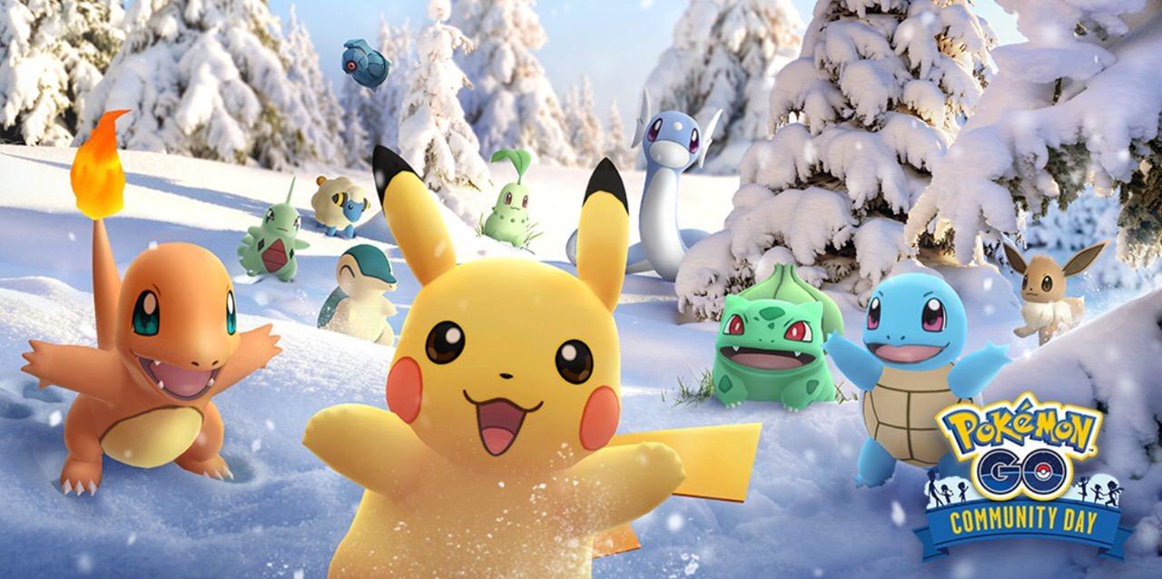 【ポケモンGO】12月の「Pokémon GO コミュニティ・デイ」は過去大量発生のポケモンが再登場