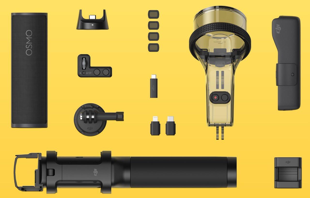 「DJI Osmo Pocket」3軸スタビライザー搭載の小型カメラ(44,900円)