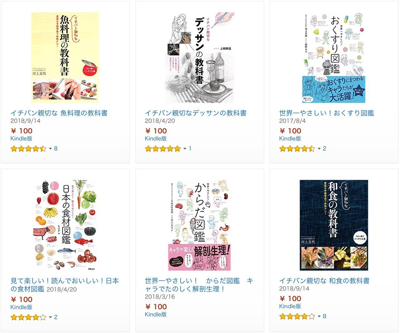 【Kindleセール】 58%オフ以上「新星出版社人気作品キャンペーン」(12/14まで)