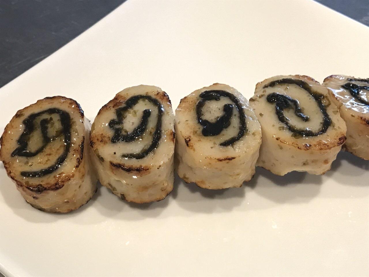 【ローソン】でか焼鳥「鶏むねの海苔と柚子こしょう巻き」