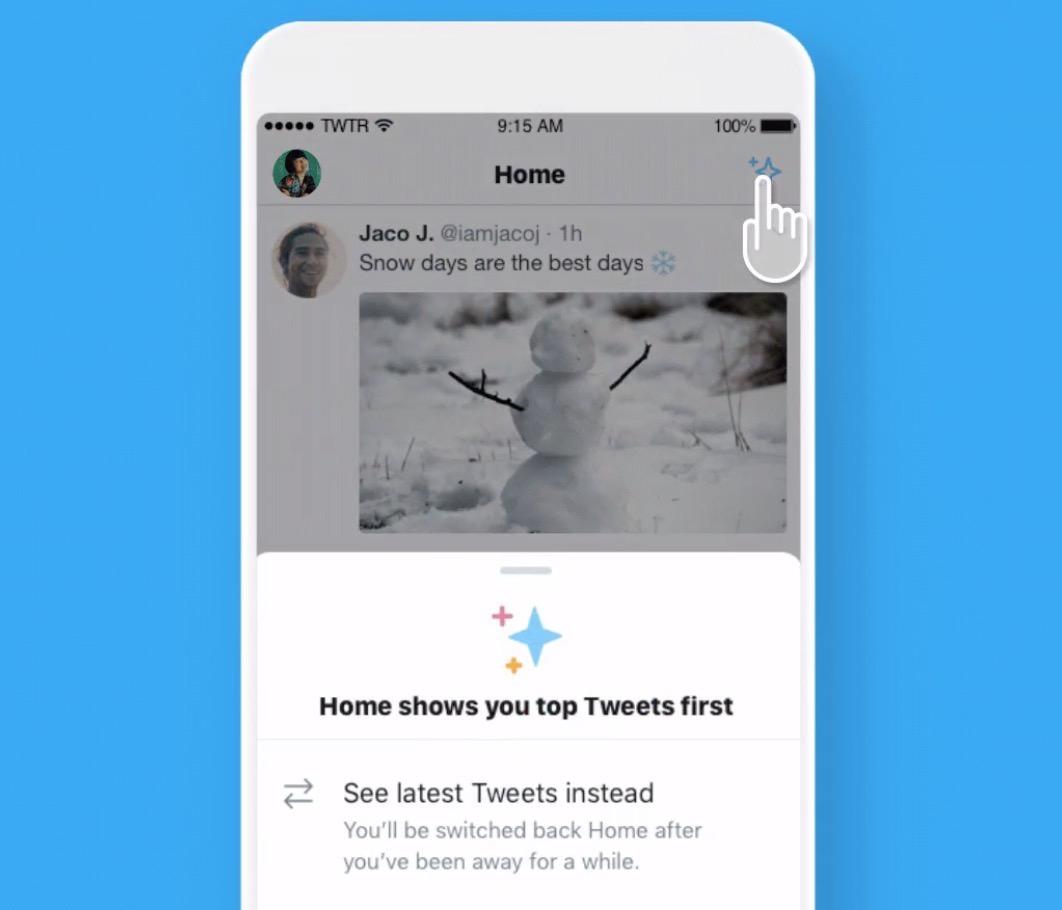 【Twitter】タイムラインを時系列と話題のツイートで簡単に切り替え可能に【iOS】