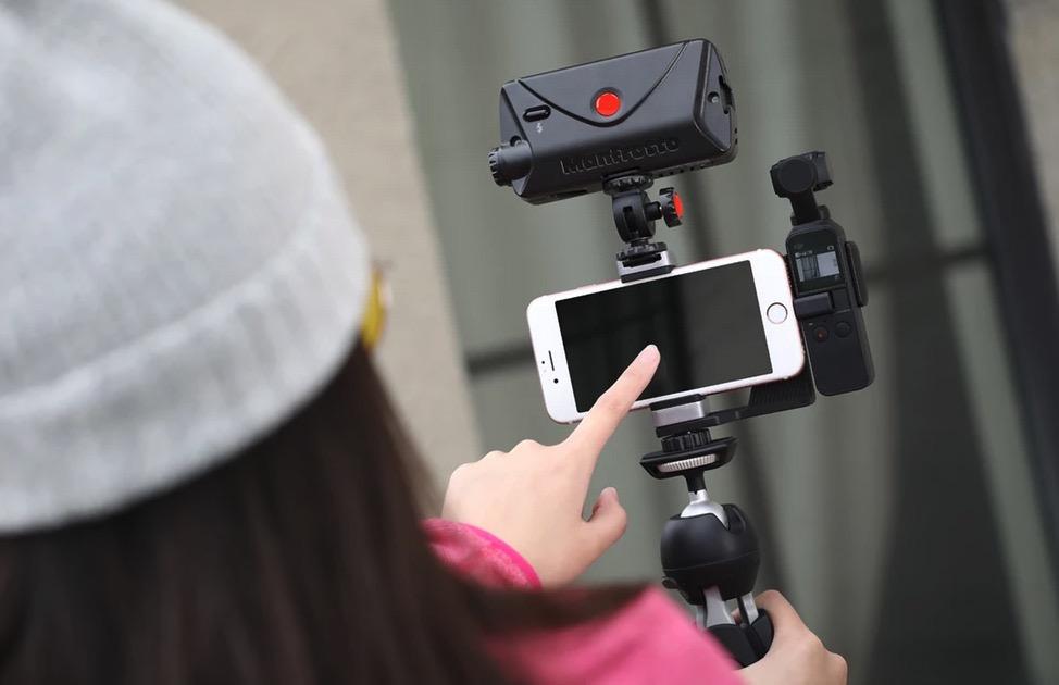 【DJI Osmo Pocket】「フォンホルダー付きスターターセット」が約5,000円オフの49,900円