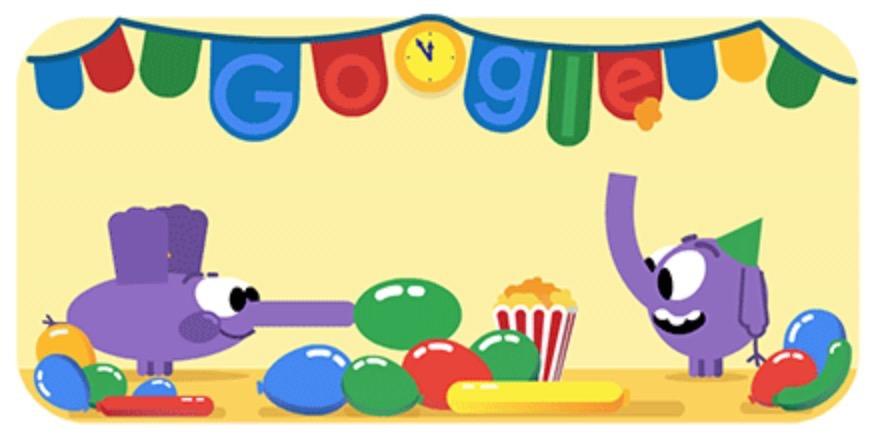 Googleロゴ「大晦日 2018」に