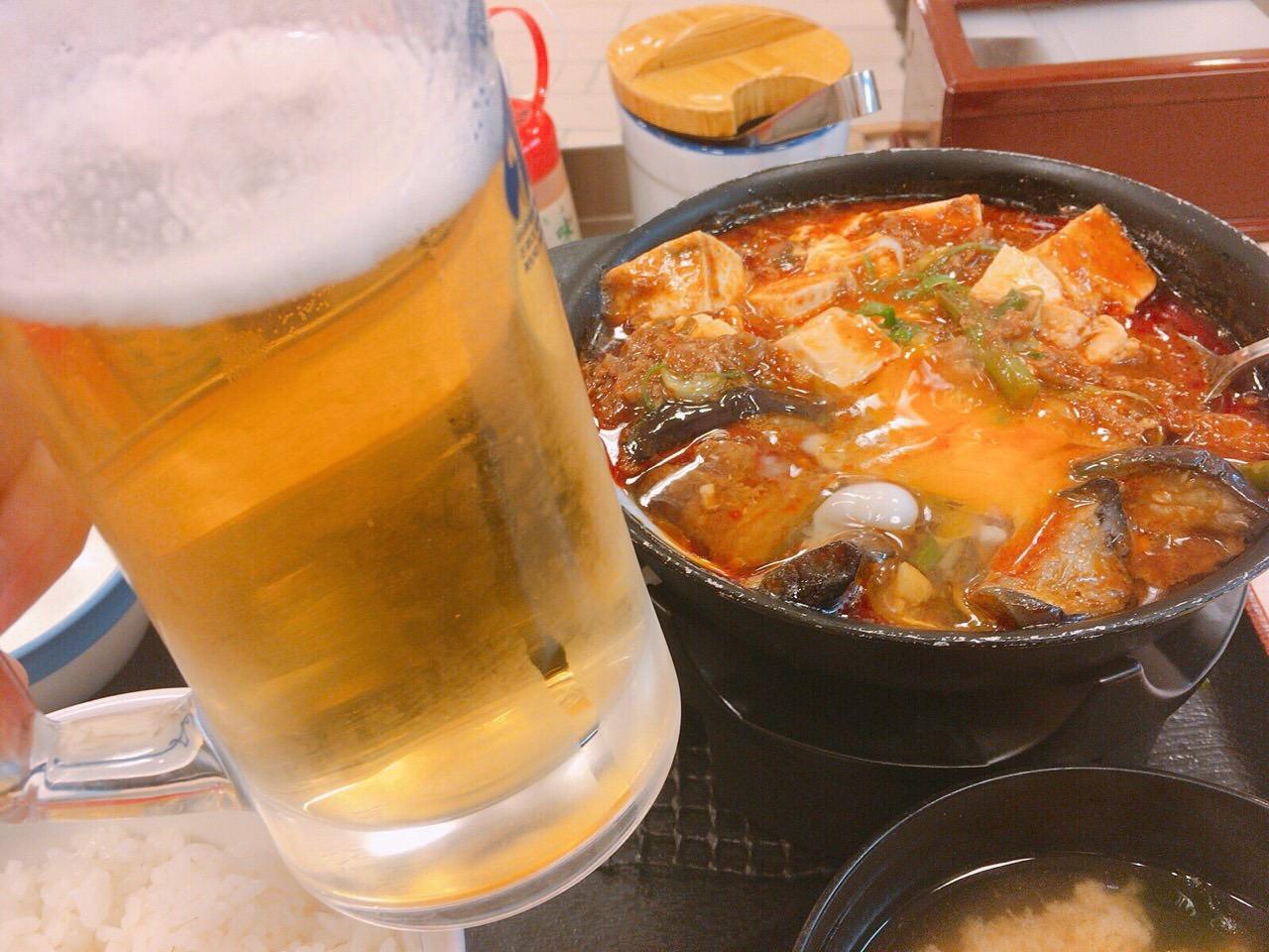 【松屋】「四川風麻婆鍋膳」 08