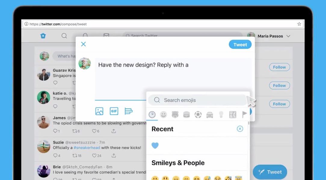 「Twitter」新しいデザインのウェブ版を提供開始