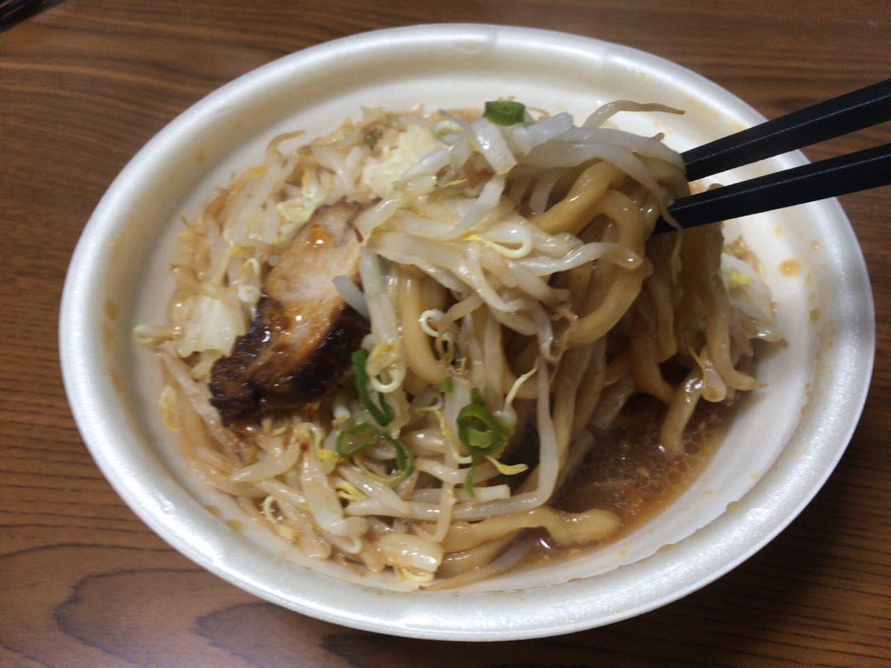 セブンイレブン 中華蕎麦 とみ田 5