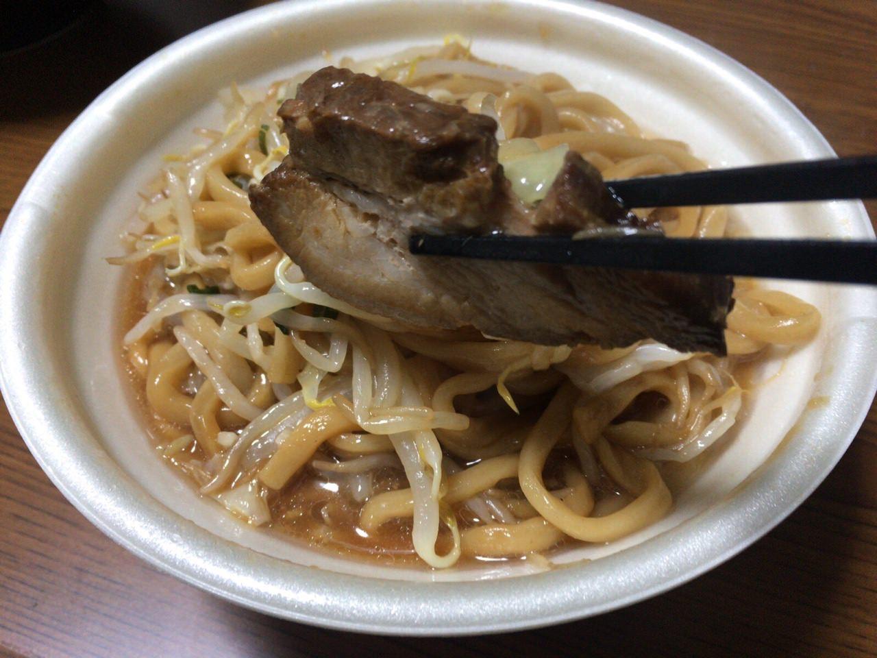 セブンイレブン 中華蕎麦 とみ田 8