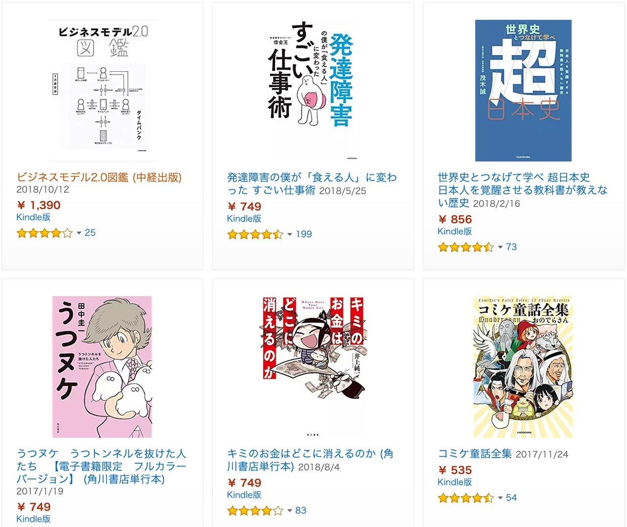 【Kindleセール】3,000冊以上が対象!50%OFF「KADOKAWA冬の読書応援フェア」(2/21まで)
