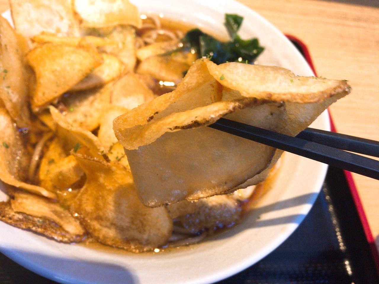 富士そば ポテトチップスそば・うどん 03