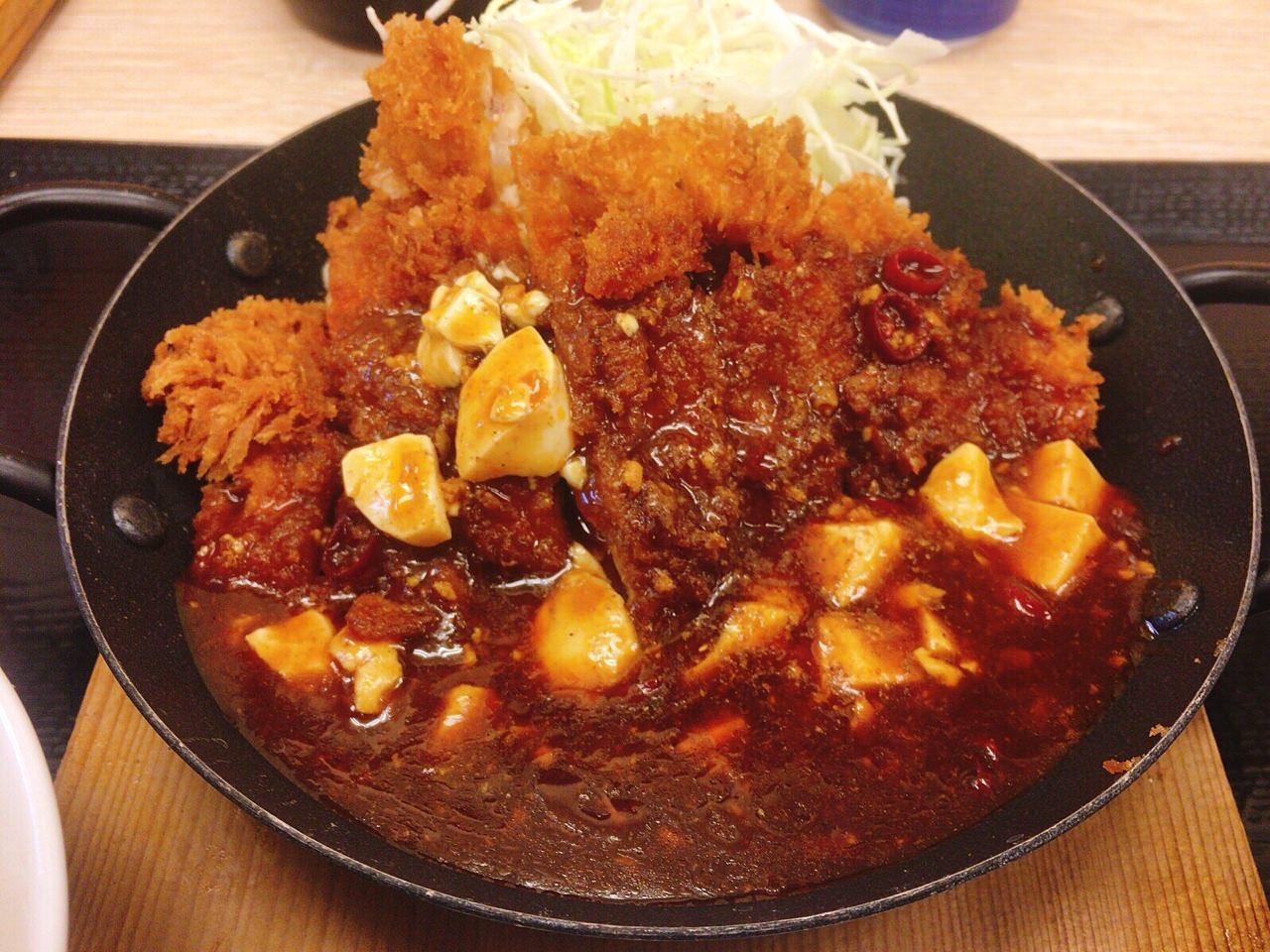 「麻婆チキンカツ定食・麻婆チキンカツ丼」04