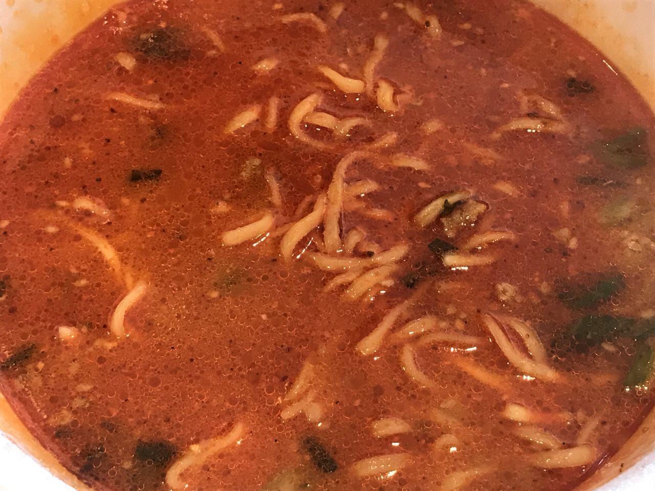 マルちゃん正麺 カップ うま辛辛辛担担麺 STRONG 7