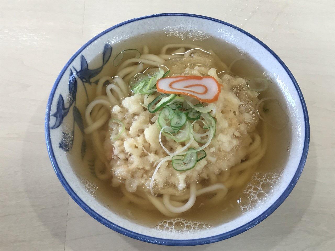 麺類食堂 天ぷらうどん
