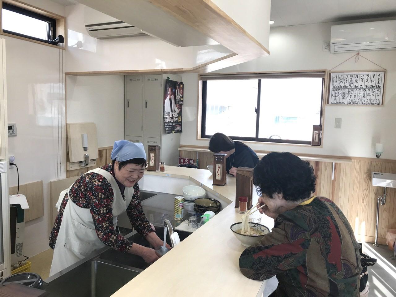麺類食堂 店内