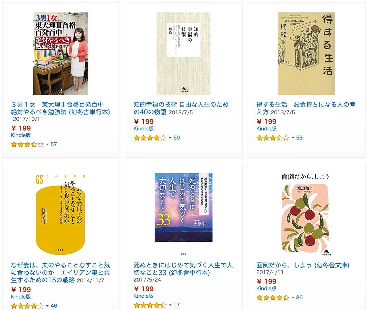 【Kindleセール】「幻冬舎の実用書フェア」2週間で小説を書く!、弱火コントロールで絶対失敗しない料理など(3/14まで)