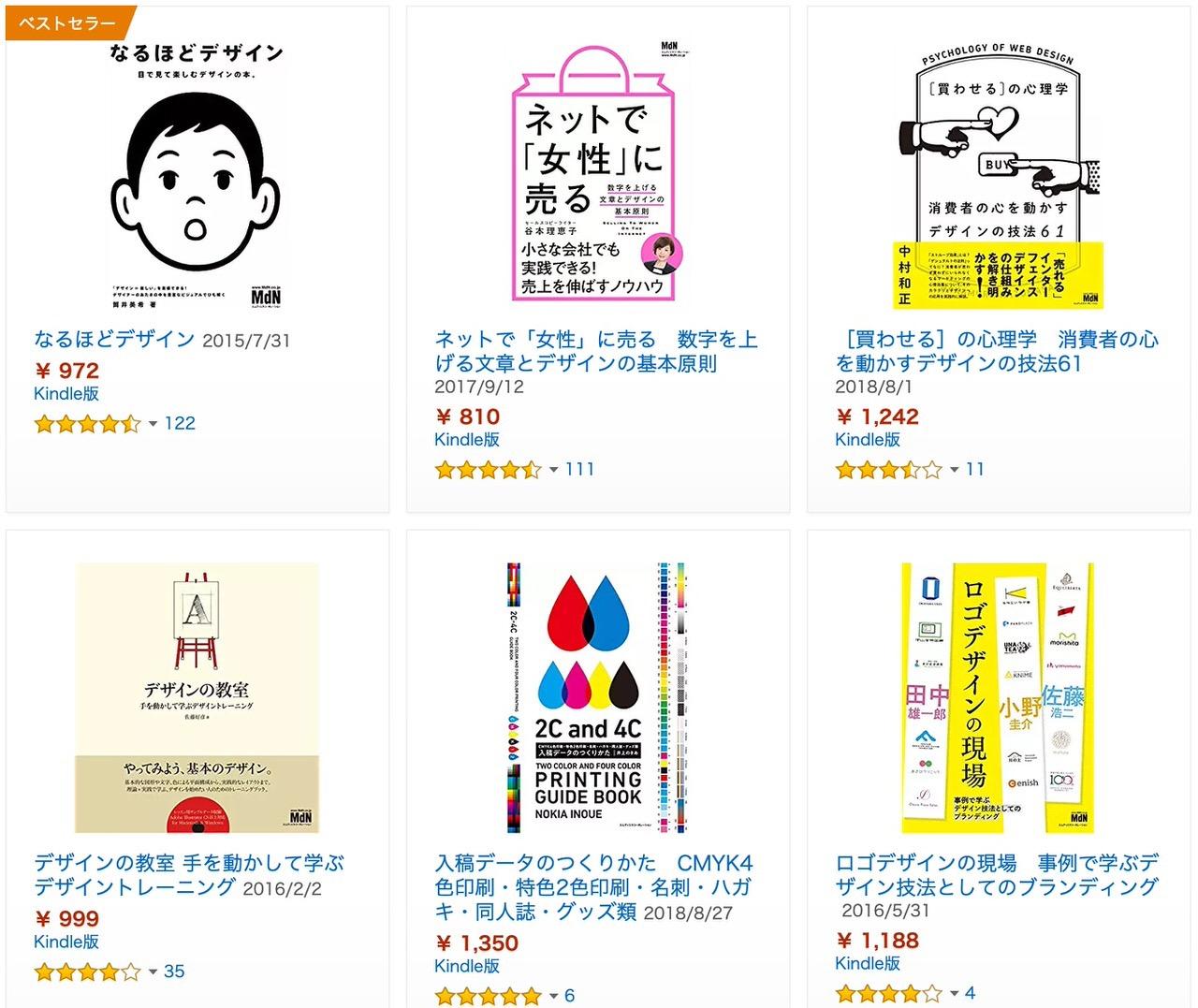 【Kindleセール】「なるほどデザイン」10万部突破記念!デザイン書フェア(3/31まで)