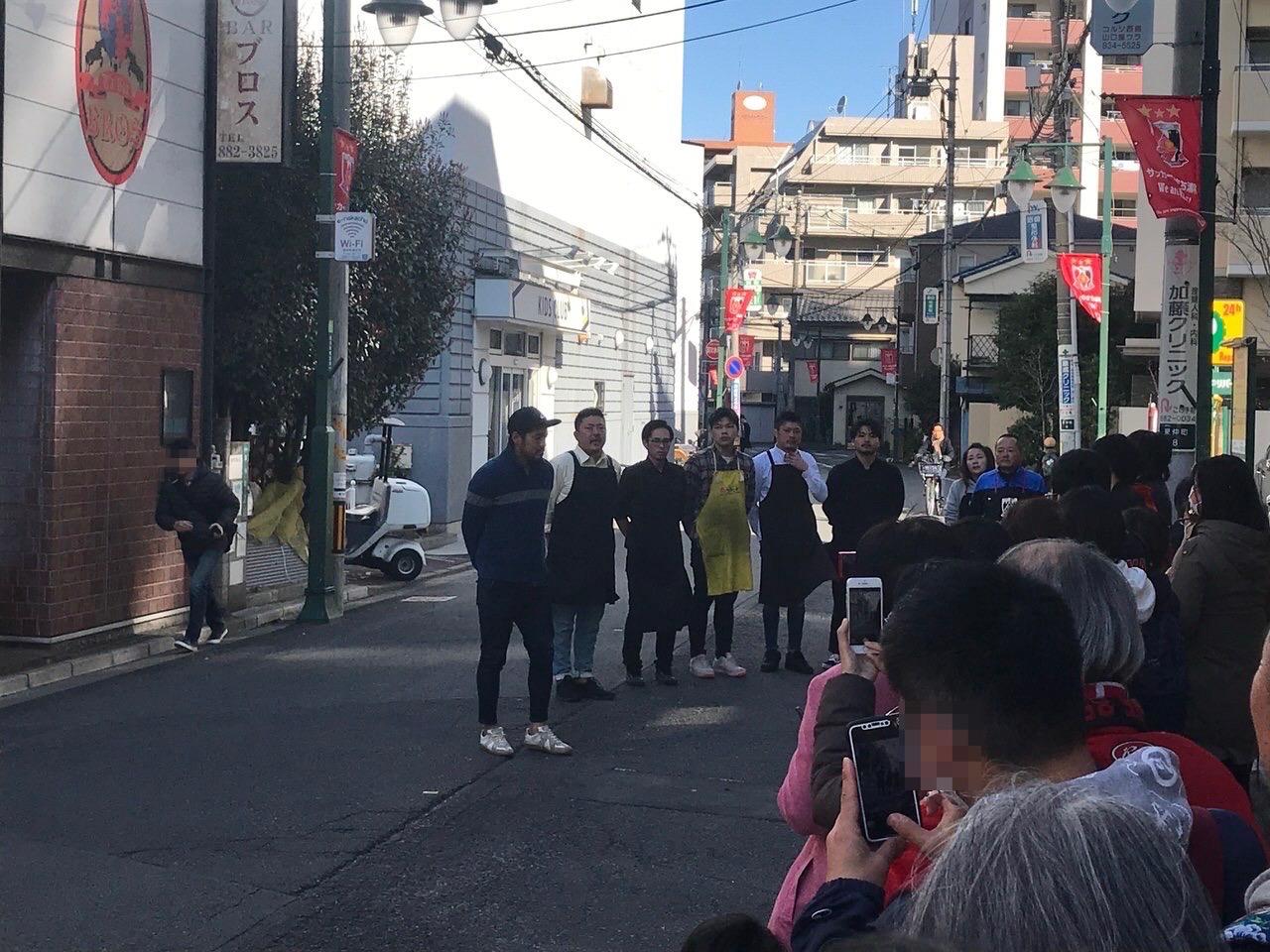 興梠慎三が来店