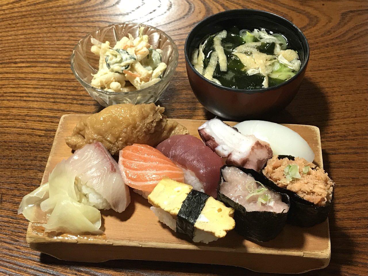 小政寿司 魚津 昼定食