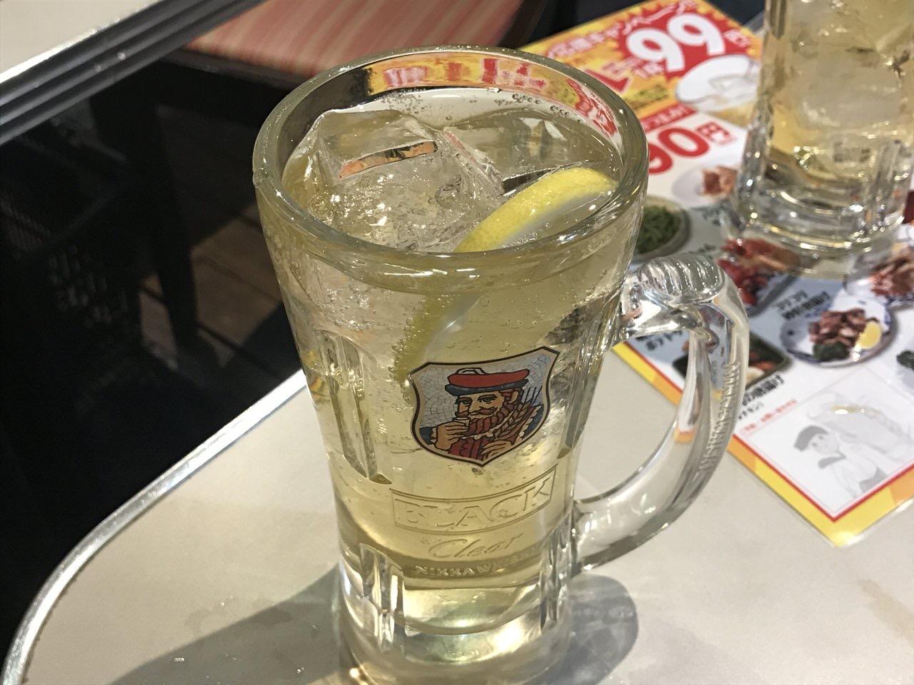 「満天酒場(大森)」チューハイ2