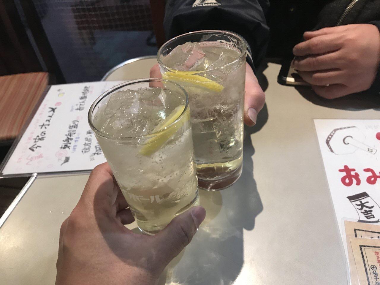 「満天酒場(大森)」チューハイ