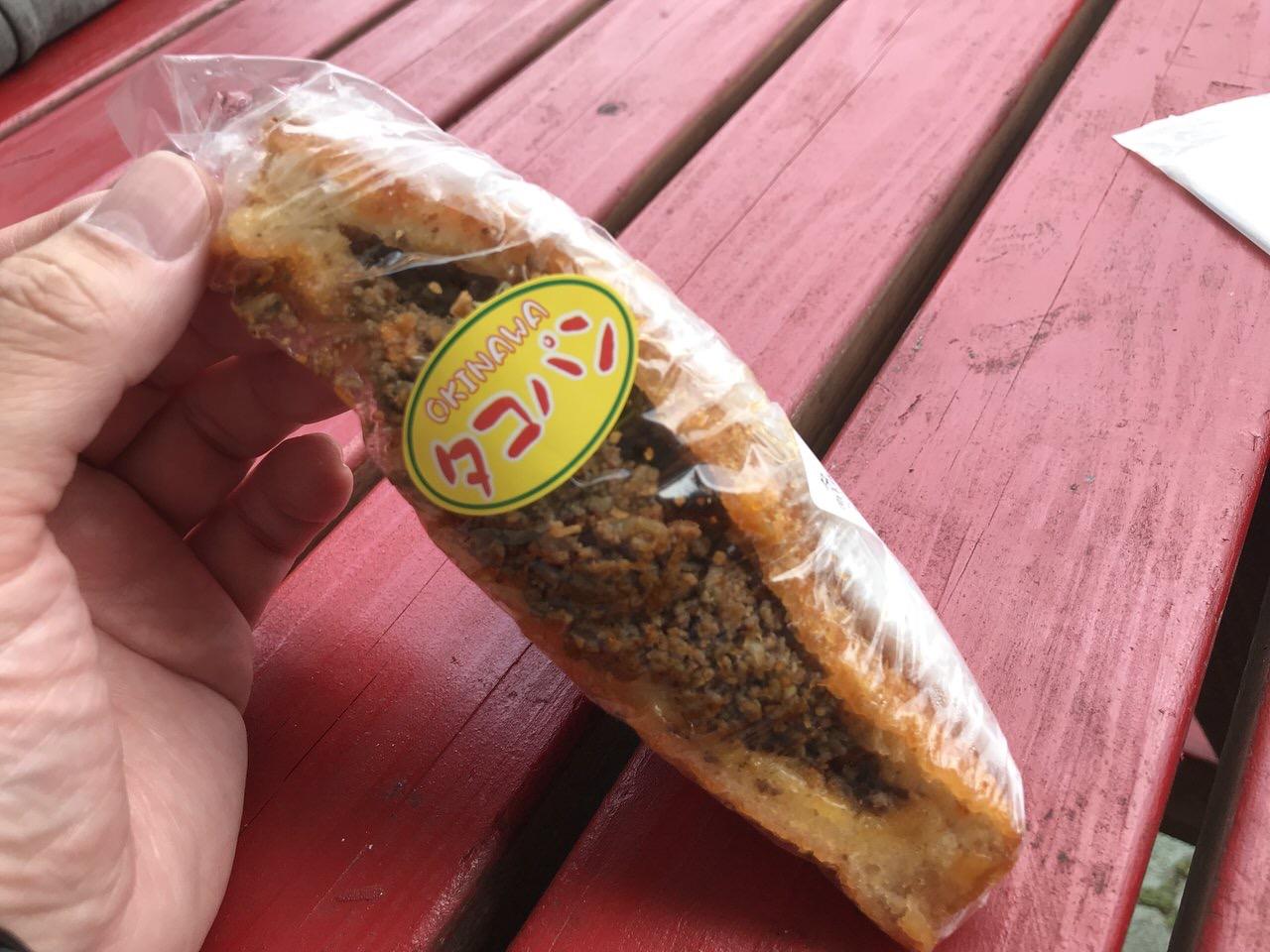 「タコパン」タコスをサンドイッチした沖縄のご当地パンが美味!
