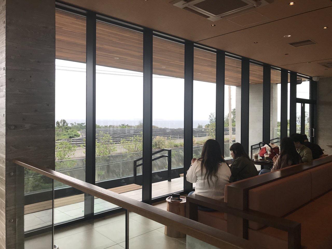 スターバックス 沖縄本部町店 2階 オーシャンビュー 2