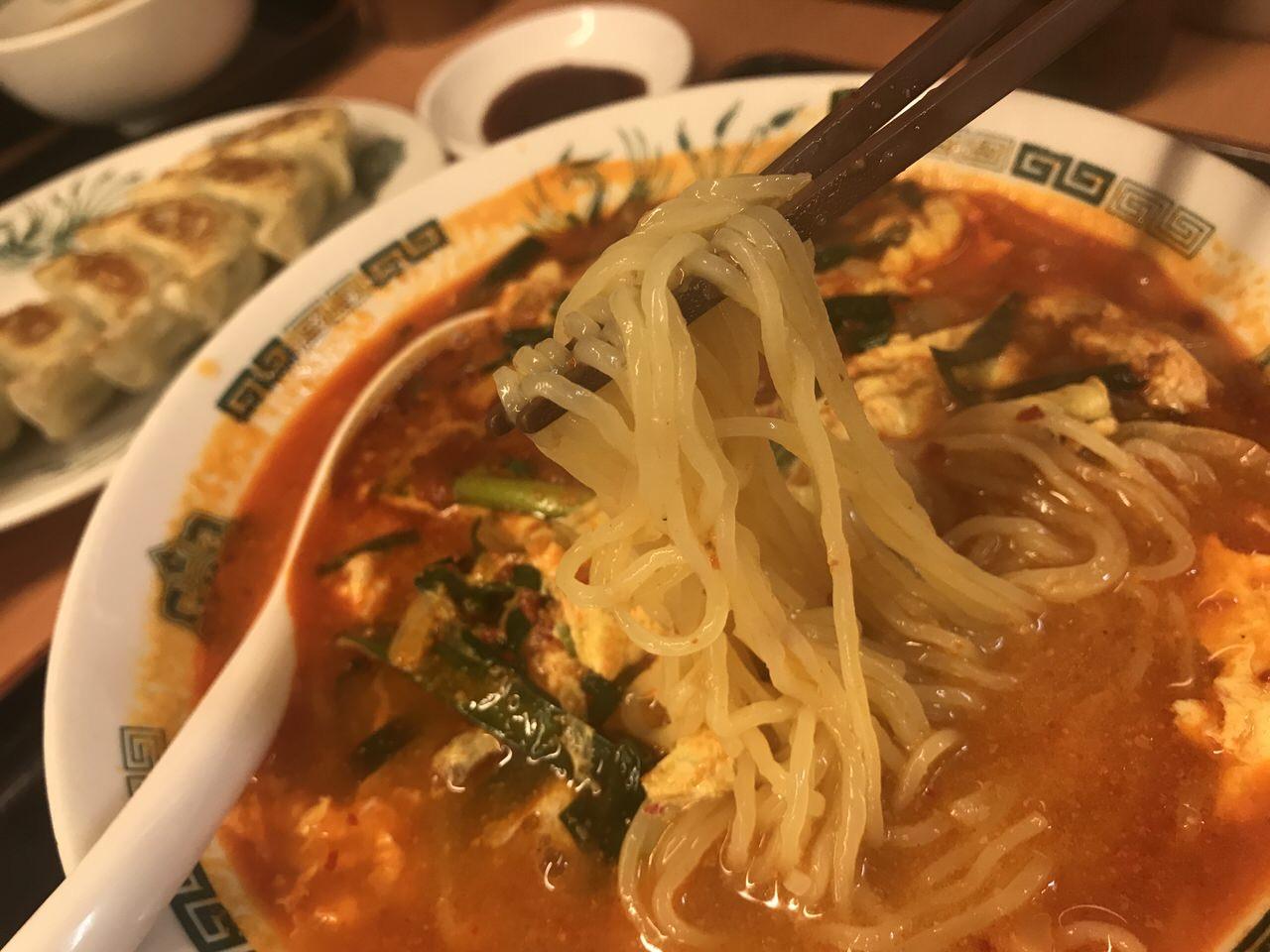 大宮担々麺 麺