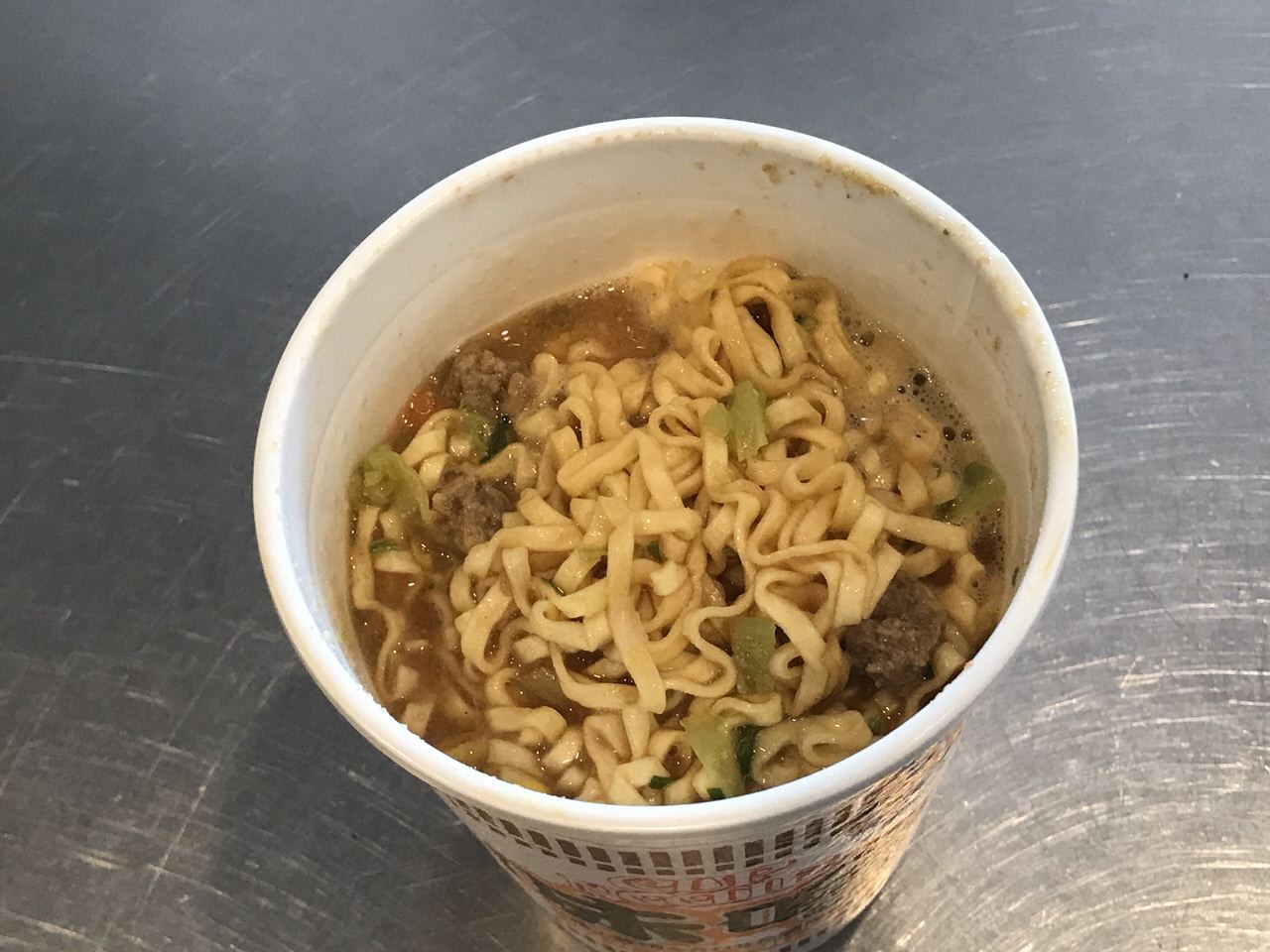 カップヌードル味噌 05