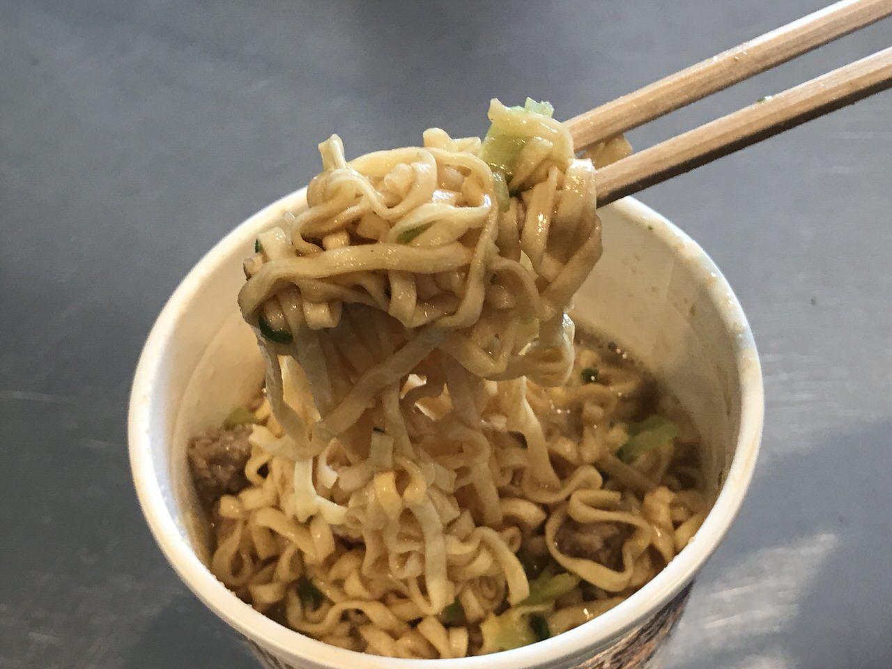 カップヌードル味噌 06