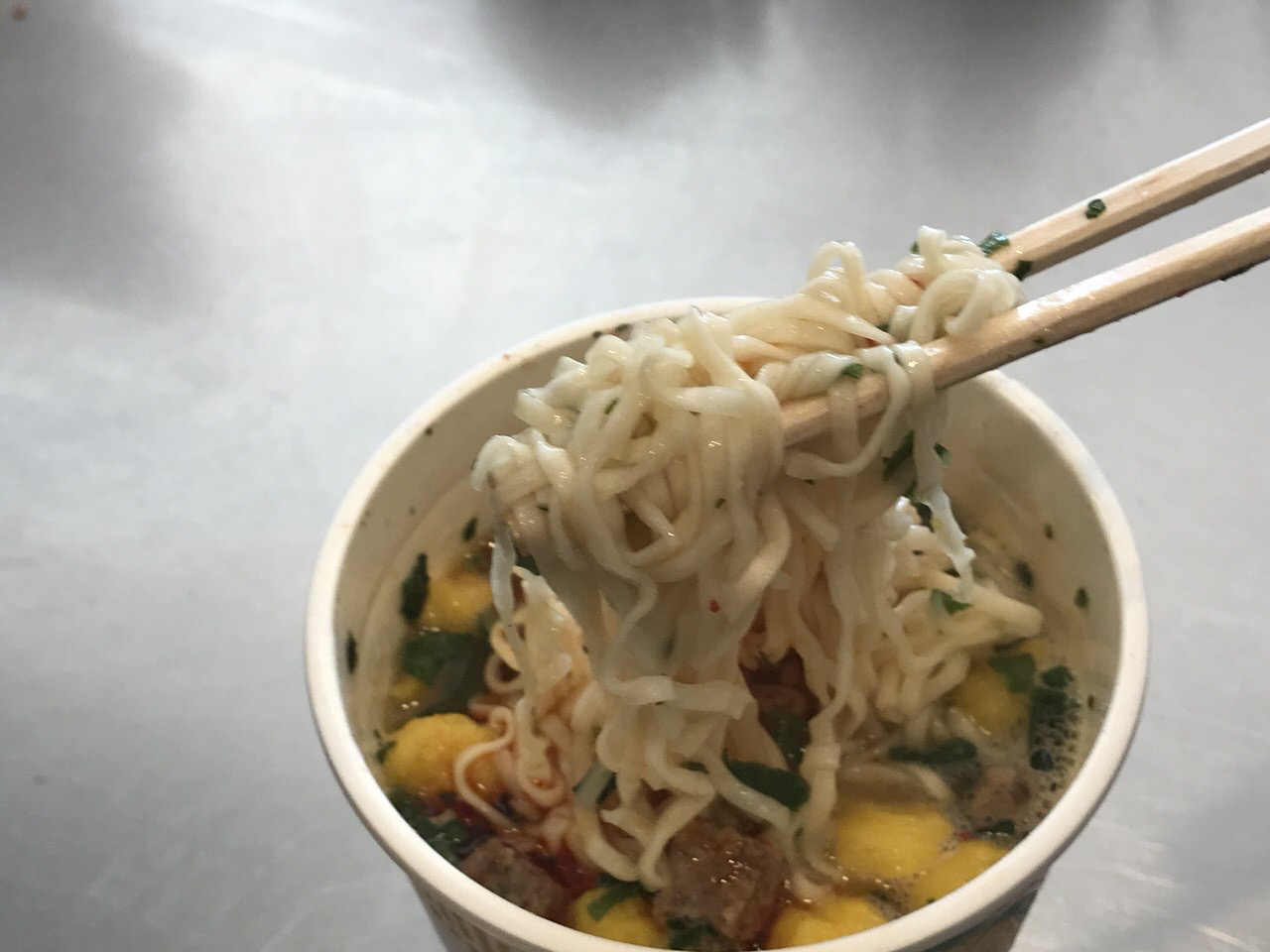 カップヌードル 蘭州牛肉麺 07