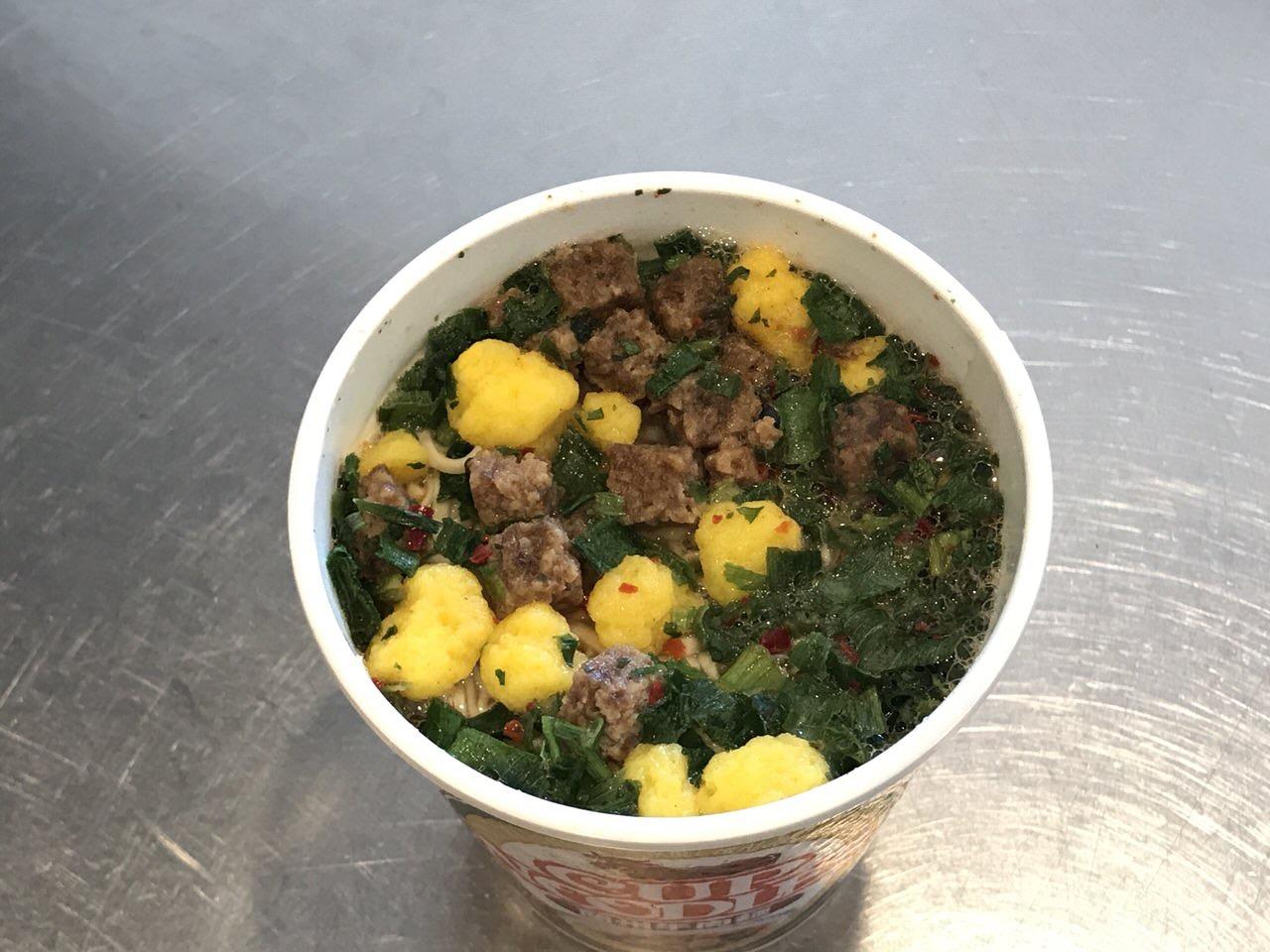 カップヌードル 蘭州牛肉麺 05