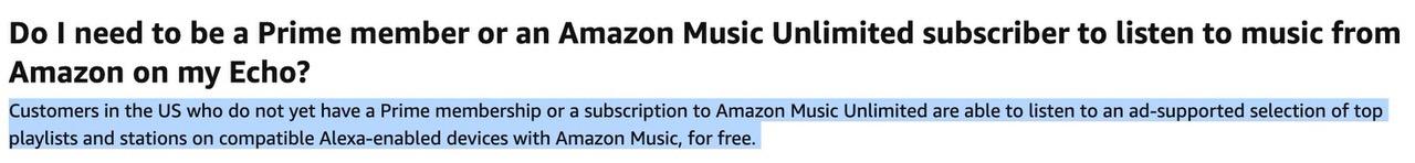 アメリカで「Amazon Music Unlimited」の広告付き無料配信を開始