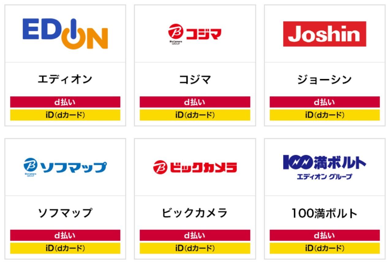 【d払い】20%ポイント還元キャンペーンを開催中(5/7まで)