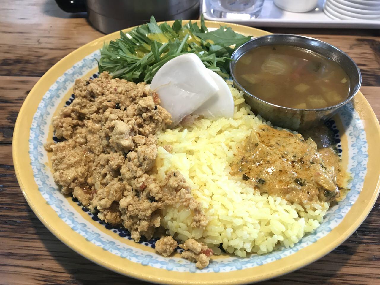 カレー「サンラサー」新宿 再訪 3