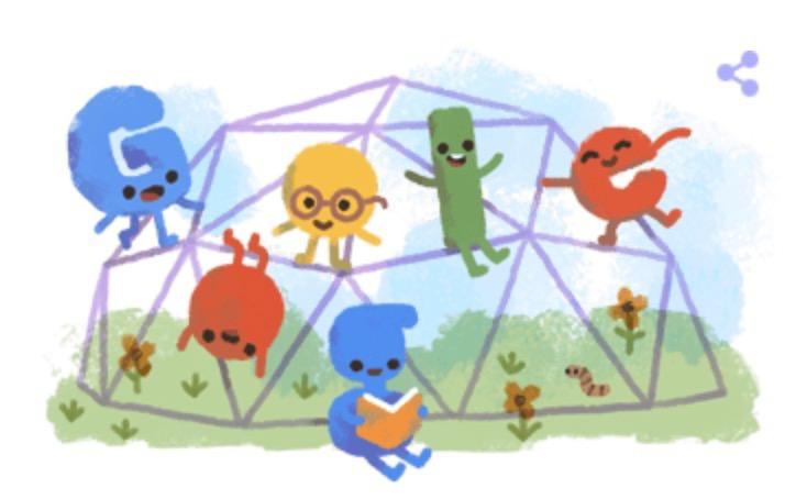 Googleロゴ「2019年 こどもの日」に