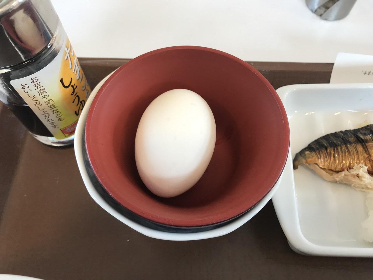 すき家の朝食「さば朝食」3