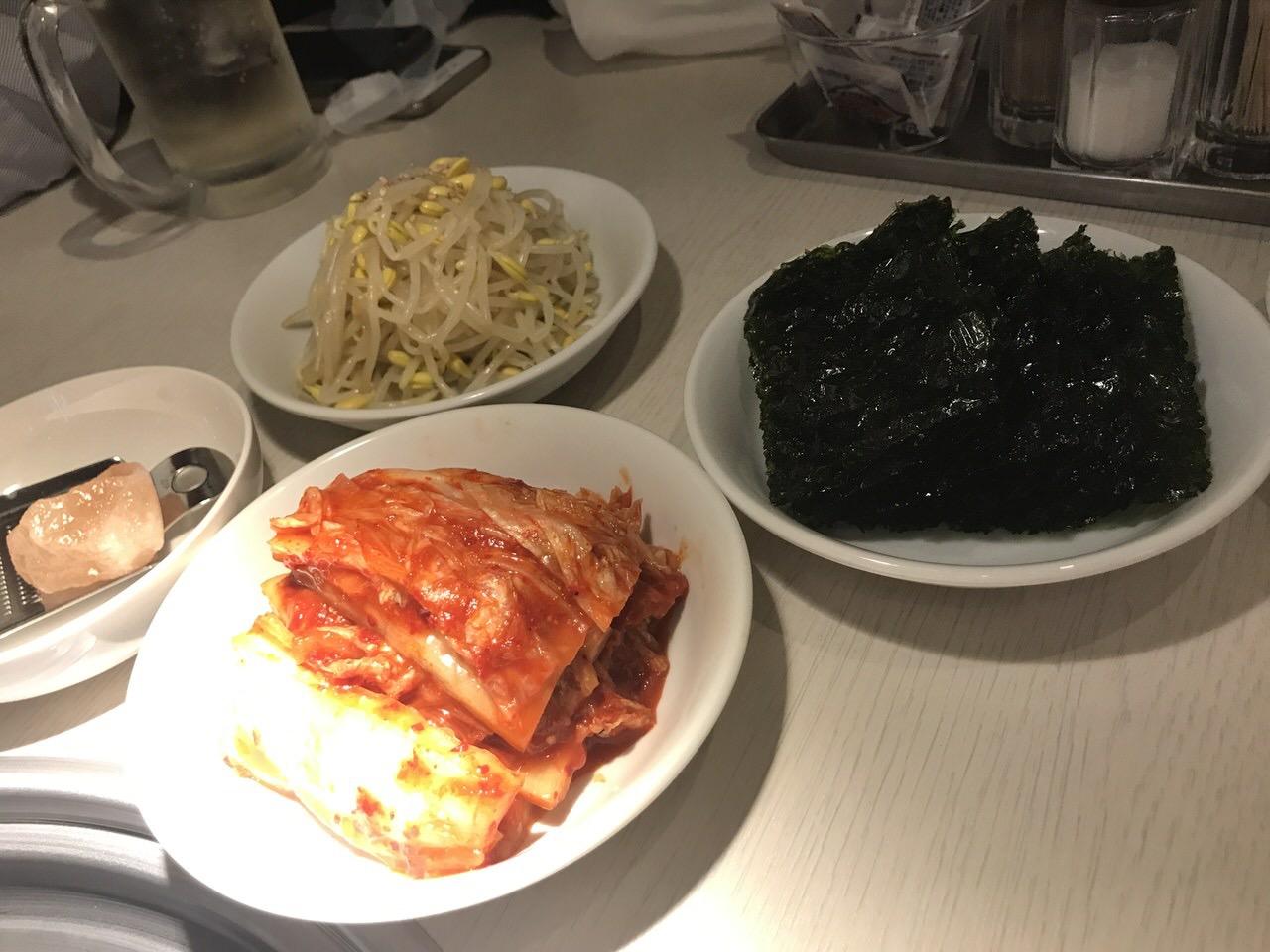 焼肉笹塚園 前菜