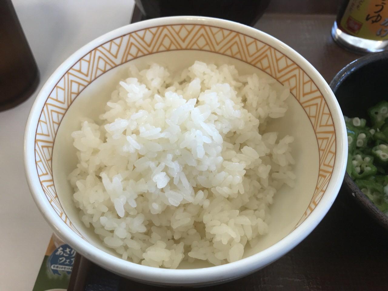 すき家 まぜのっけご飯 ごはんミニ 1