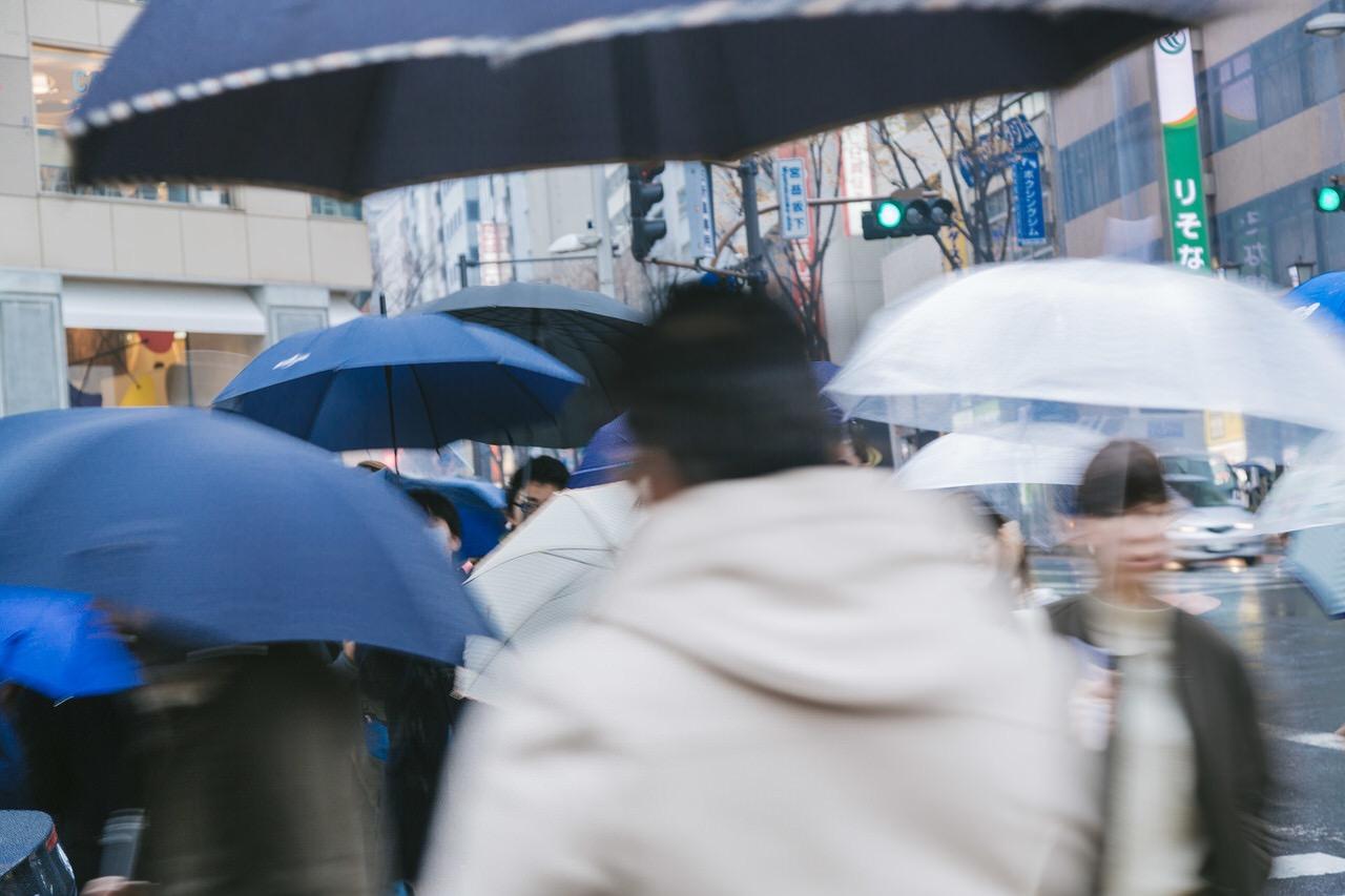 関東地方が6月7日に梅雨入り(2019)