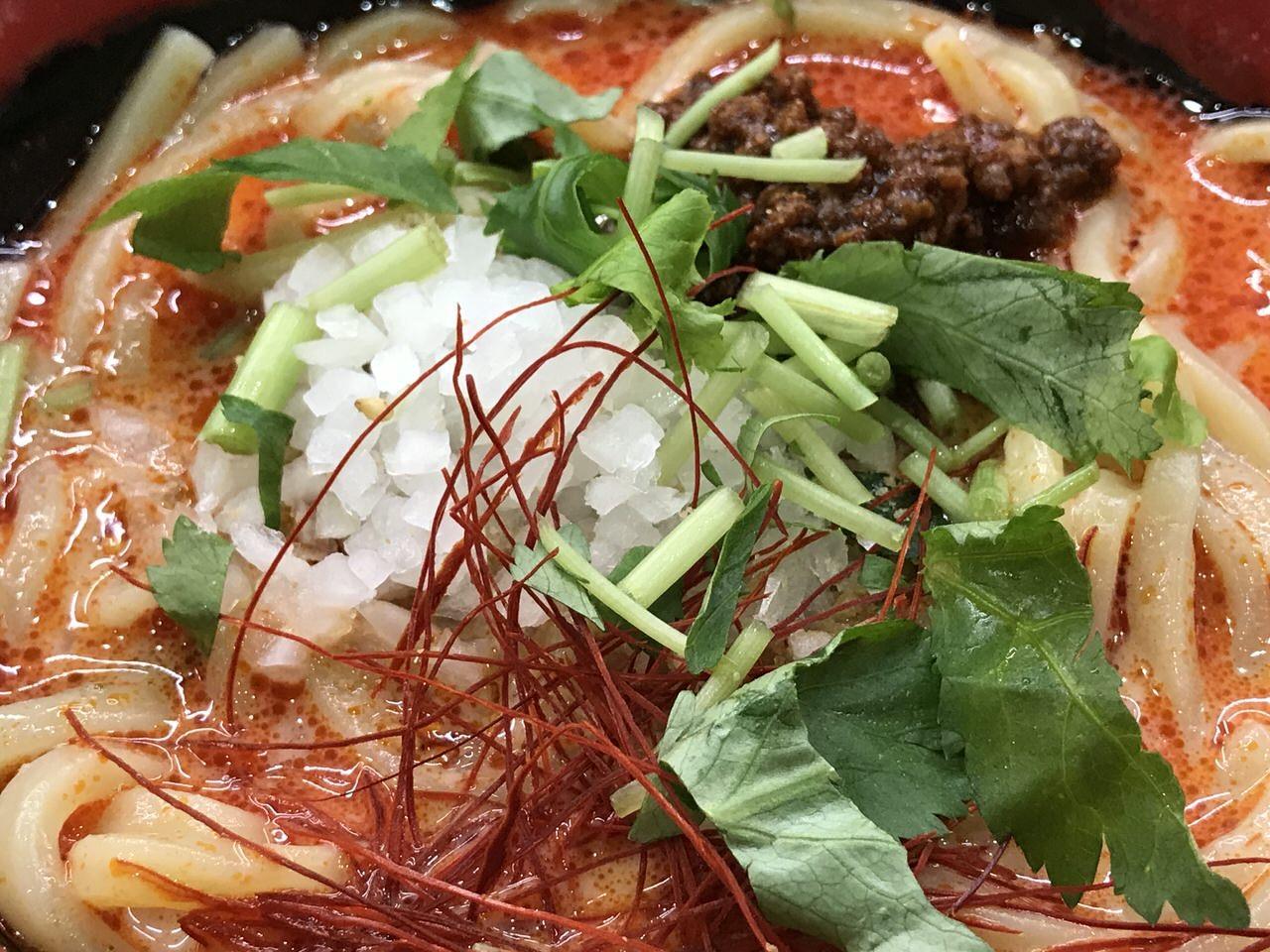 くら寿司 冷やし担々麺 4