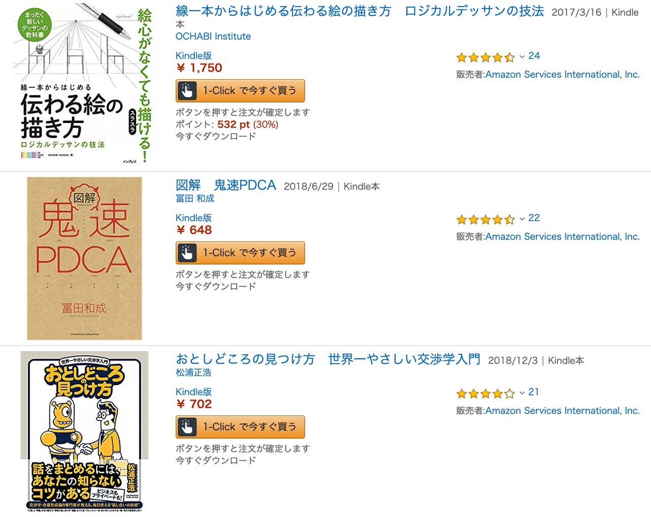 【Kindleセール】50%オフ以上も多数「ビジネスに役立つ 高レビューおすすめ書籍フェア」(6/27まで)
