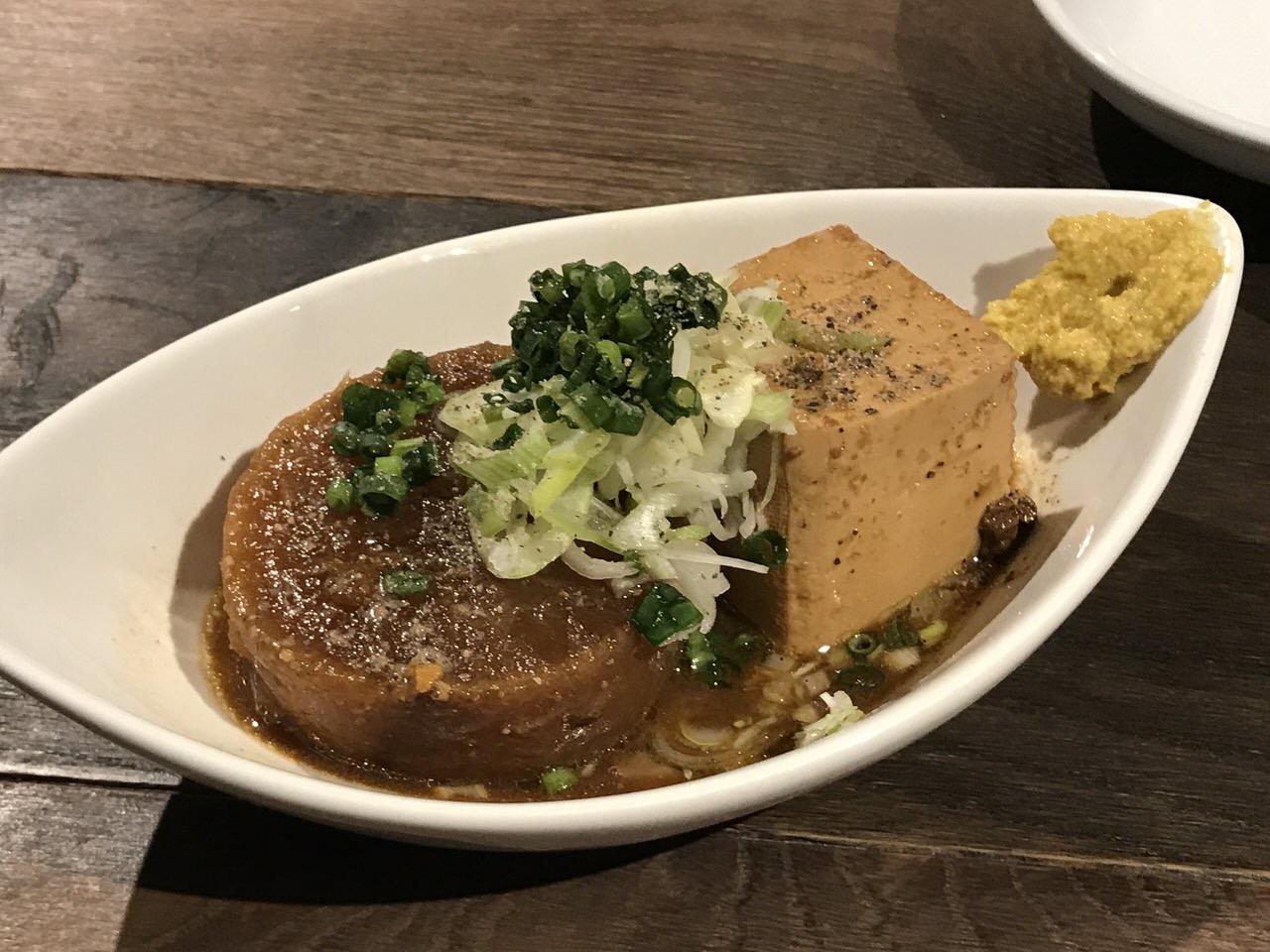 立ち呑みビアジオ 浦和 大根&豆腐