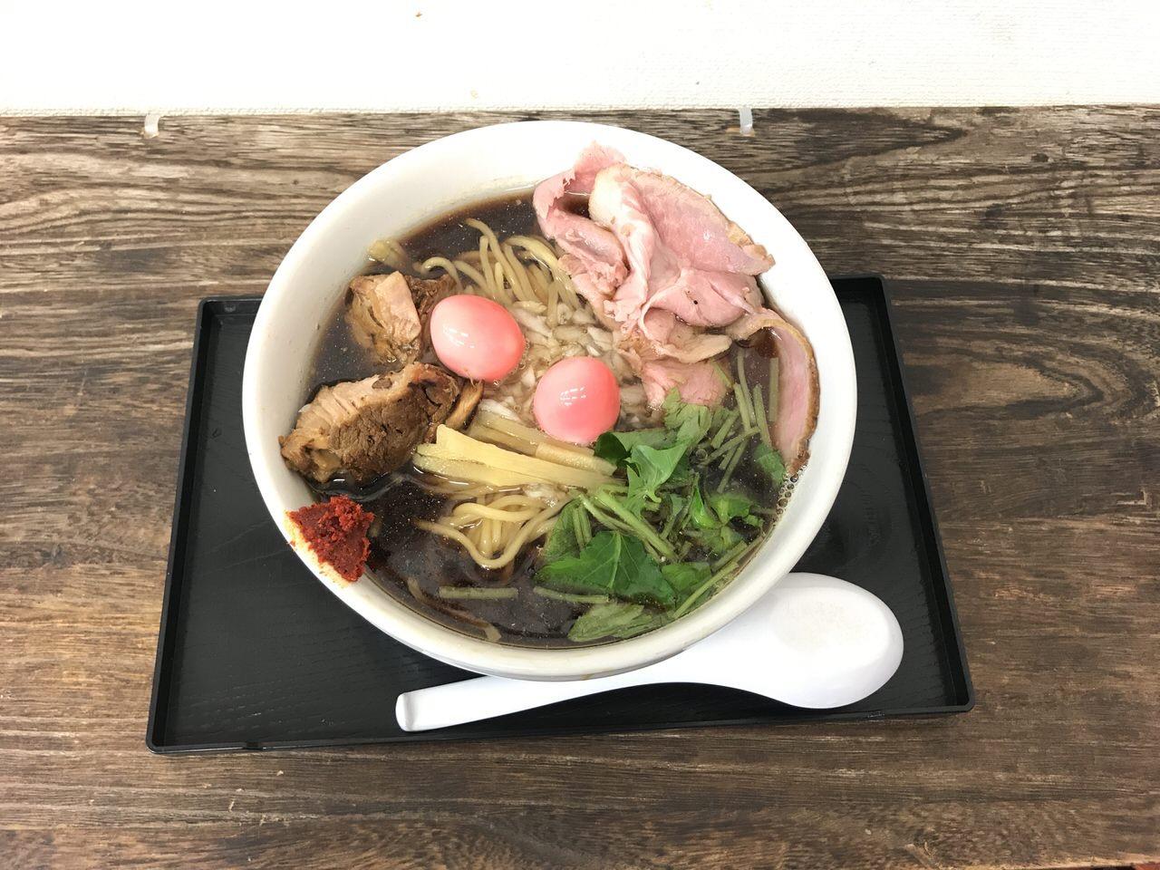 間借りラーメン「仮麺中」6