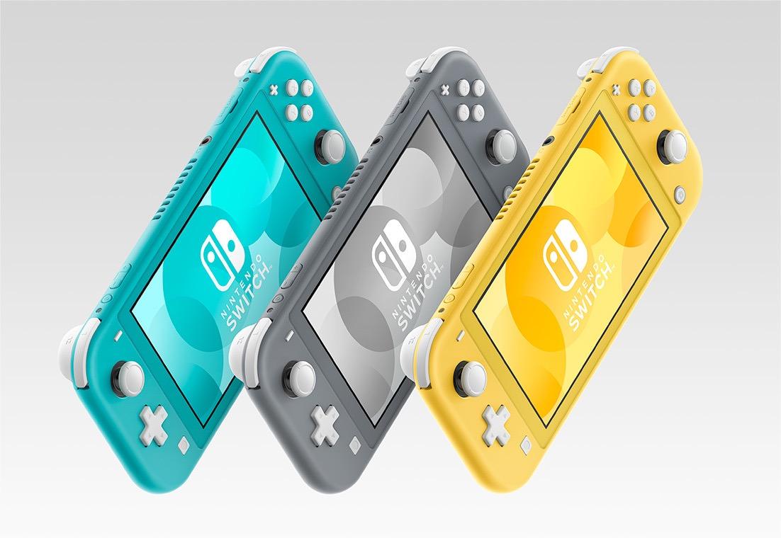 携帯モードに特化した「Nintendo Switch Lite」登場