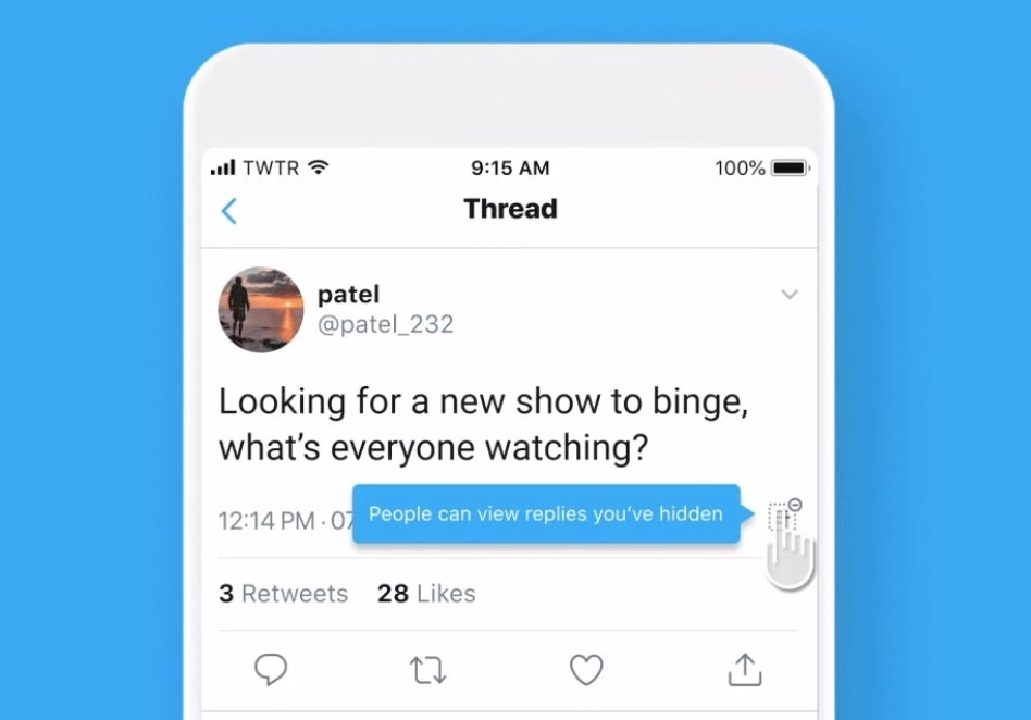 「Twitter」ツイートを隠す機能をカナダで先行してテスト